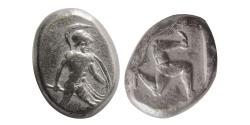 Ancient Coins - PAMPHYLIA, Aspendos. Circa 465-430 BC. AR Stater. Great style.