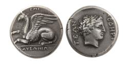Ancient Coins - THRACE, Abdera. 346-336 BC. Silver Stater.