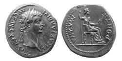 """Ancient Coins - ROMAN EMPIRE. Tiberius. 14-37 AD. AR Denarius """"Tribute Penny""""."""
