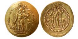 Ancient Coins - KUSHANO-SASANIAN. Hormizd I Kushanshah. Circa AD. 270-300. AV Dinar.