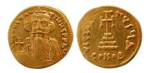 BYZANTINE EMPIRE. Constans II. 641-668. AV Solidus.