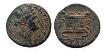 Ancient Coins - SYRIA, Antiochia ad Orontem. Civic coinage. Ca. 1st Century AD. AE Trichalkon.