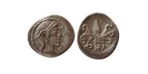 Ancient Coins - SICILY, Syracuse. Circa 466-460 BC. AR Litra.