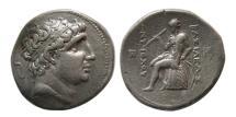 Ancient Coins - SELEUKID KINGDOM; Antiochos I Soter. 281-261 BC. Silver Tetradrachm.
