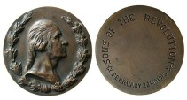 "World Coins - United States: George Washington. 1913. ""Sons of the Revolution"" Bronze Medallion"