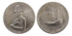 World Coins - UNITED STATES. 1920. Pilgrim Half Dollar. Pilgrim Tercentenary Celebration.