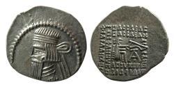 Ancient Coins - KINGS of PARTHIA. Artabanos IV. Ca. AD 10-38. AR Drachm. Ekbatana mint.