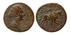 Ancient Coins - MACEDONIA, Amphipolis. Faustina II. Augusta, AD. 147-175. Æ.