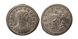 Ancient Coins - ROMAN EMPIRE. Aurelian. 270-275 AD. Silvered Antonininaus. Choice FDC.