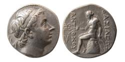 Ancient Coins - SELEUCID KINGS; Antiochus III. 223-187 BC. AR Tetradrachm. Antioch on the Oronte.