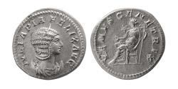 Ancient Coins - ROMAN EMPIRE. Julia Domna. AD. 215-217. Silver Antoninianus.