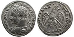 Ancient Coins - SYRIA, Seleucis and Pieria. Antioch. Caracalla. AD 198-217. AR Tetradrachm.