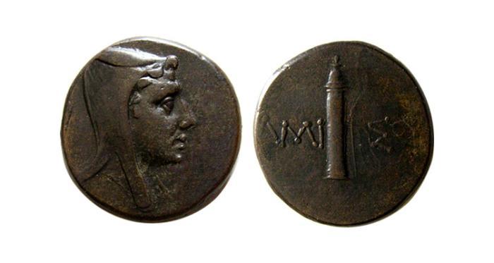 Ancient Coins - PONTUS, Amisos. Circa 125-100 BC. AE 27mm