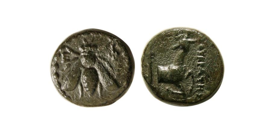 Ancient Coins - IONIA, Ephesus. ca. 340-325 BC. Æ.