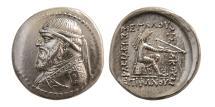 Ancient Coins - KINGS Of PARTHIA. Mithradates II. 121-91 BC. Silver Drachm.