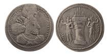 Ancient Coins - SASANIAN KINGS. Shahpur I. 240-272 AD. AR Drachm .