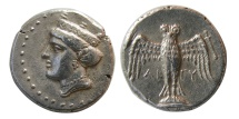 Ancient Coins - PONTOS, Amisos. Late 5th-4th Century BC. AR Siglos.  Lovely strike. Elegant style.