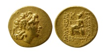 PONTIC KINGDOM. Time of Mithradates VI. 120-63 BC. Gold Stater.