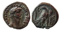 Ancient Coins - EGYPT, Alexandria. Galianus. AD. 253-268. Æ Tetradrachm. Dated RY 15 (AD 267/68 AD).