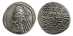 Ancient Coins - KINGS of PARTHIA. Osroes II. Circa AD 190-208. AR Drachm.