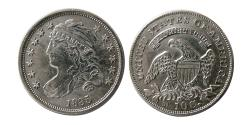 World Coins - UNITED STATES. 1835. 10 Cents.