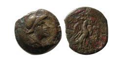 Ancient Coins - ELYMIAS KINGS, Tigraios. 138/7-133/2 BC. Æ. Susa mint. Extremely rare.