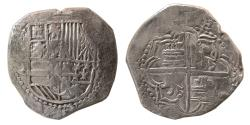 World Coins - SPAIN, Felipe III. 1598-1621. AR 8 Reales. Potosi.