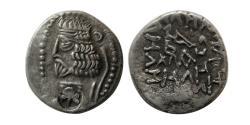 Ancient Coins - INDO-PARTHIANS. Margiana or Sogodiana. Ca. 1st Century AD. AR Drachm.