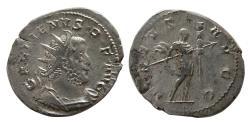 Ancient Coins - ROMAN EMPIRE. Gallienus. 253-268 AD. AR Antoninianus.