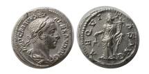 Ancient Coins - ROMAN EMPIRE. Severus Alexander. 222-235 AD. AR Denarius. Choice FDC.