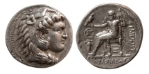 Ancient Coins - SELEUKID KINGS. Seleukos I. 321-315 BC. AR Tetradrachm. In the name of Philip III of Macedon. Babylon.