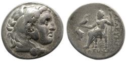 Ancient Coins - SELEUKID KINGS, Antiochos I Soter. 280-261 BC. AR Tetradrachm. Struck in Pergamon under Philetairos. Scarce !