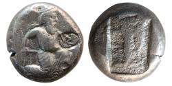 Ancient Coins - ACHAEMENID EMPIRE. Time of Artaxerxes II - Artaxerxes III. ca 375-340 BC. AR Siglos. Lovely strike.