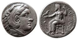 Ancient Coins - KINGS of MACEDON, Alexander III. 336-323 BC. AR Tetradrachm. Amphipolis mint.