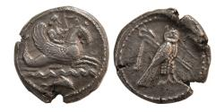 Ancient Coins - PHOENICIA, Tyre. Circa 5th-4th. Century AD. AR Shekel. From Dr. Patrick Tan Collection.