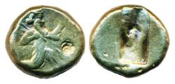 Ancient Coins - PERSIA, LYDIA, GREAT ACHAEMENID KINGS, DARIUS I THE GREAT, circa 490 - 375 BC, SILVER SIGLOS, SPEAR AND BOW TYPE!