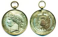 World Coins - FRANCE: 19th Century Republic of FRANCE Medal of Honor
