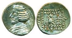Ancient Coins - PARTHIA: ORODES II, 53-38 BC, AR Drachm, Mint of Ecbatana