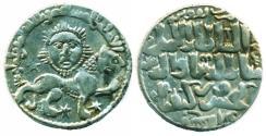World Coins - SELJUQ OF RUM: KAYKHUSRAW II, SILVER DIRHAM, MINT OF KONYA, AH 640, LION & SUN, BEAUTIFUL EF!