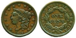 Us Coins - USA 1838 Large Cent Coronet Head