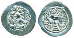 Ancient Coins - SASANIAN Empire: Peroz, 457-484, Silver Drachm, AY Mint of Susa, AU-UNC! ON SALE!