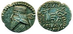 Ancient Coins - PARTHIA: Vologases III; 105-147 C.E.; Silver Drachm, Mint of Ecbatana, Superb!