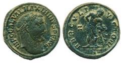 Ancient Coins - ROMAN, IMPERIAL: MAXIMINUS II; 310-313; Æ follis, Mint of Antioch, Desert Patina