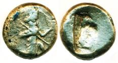 Ancient Coins - PERSIA, LYDIA, GREAT ACHAEMENID KINGS, Xerxes I - Darius II, circa 485 - 420 BC, SILVER SIGLOS, SPEAR AND BOW TYPE!