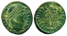 Ancient Coins - ROMAN, IMPERIAL: CONSTANTINE I. THE GREAT, Æ FOLLIS, MINT OF CYZICUS, SUPERB!