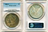 Us Coins - USA: 1880-S MORGAN SILVER DOLLAR, PCGS AU53