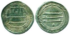 World Coins - ABBASID: Harun al-Rashid, Silver dirham, Mint of al-Muhammadiya, AH 190, Arabian Nights