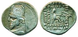Ancient Coins - PARTHIA: ORODES I; 90-80 B.C.; Silver Drachm, Mint of Ecbatana, ON SALE!