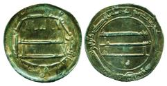 World Coins - ABBASID: Harun al-Rashid, Silver dirham, Mint of Madinat al-Salam, AH 188, Arabian Nights