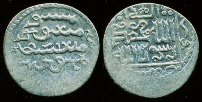 World Coins - Ilkhans (Mongols of Persia): Gaykhatu, 690-694 AH/1291-1295, Silver dirham (2.36 g 21 mm), Mint of (Tabriz), Struck AH 690, Uighur script